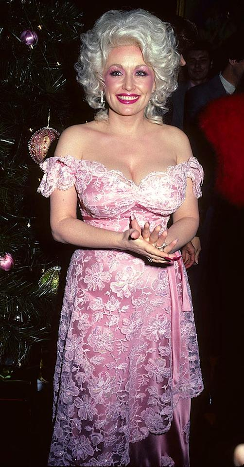 "Country singing legend <a href=""http://www.getback.com/gallery/celebrity-plastic-surgery/2986253/27"" target=""_new"">Dolly Parton</a> is no dummy. She built her career on her stellar voice and a sexy, albeit somewhat trashy, image. In fact, she's famous for saying, ""It takes a lot of money to look this cheap."" Tom Wargacki/<a href=""http://www.wireimage.com"" target=""new"">WireImage.com</a> - December 5, 1980"
