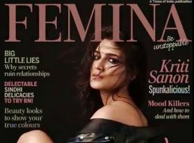 Kriti Sanon flirts with the camera on latest magazine cover