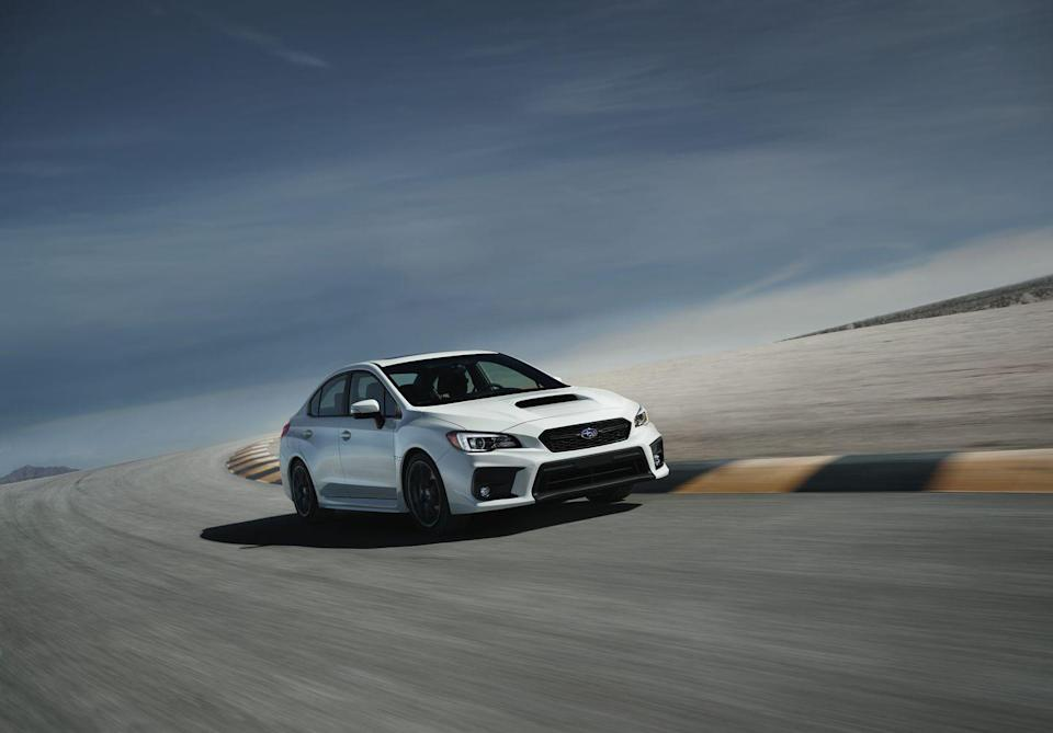 <p>This year, Subaru customers can spec their Impreza with a stick, making the model a bit of a rarity in today's market, with a combination of all-wheel drive and three pedals. The base sedan and base hatch versions of the compact are available with a five-speed or a CVT. The two turbocharged high-performance variants, the WRX and WRX STI, get a six-speed manual.<br></p>