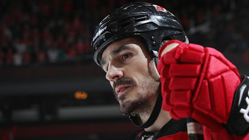 low priced 60d24 e4202 New Jersey Devils' Brian Boyle notches hat trick on Hockey ...
