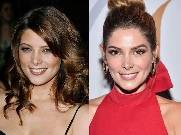 ashley greene twilight then and now