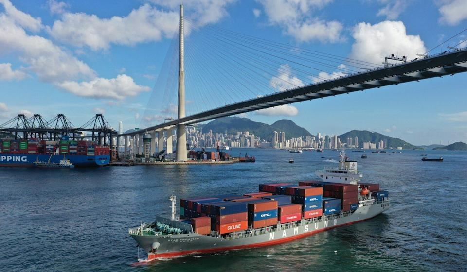 Hong Kong's export industry has been caught in the crossfire between Washington and Beijing. Photo: Winson Wong