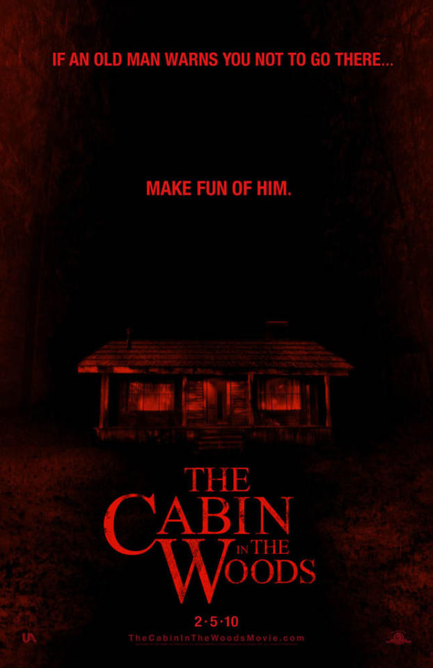 """2009 Comic-Con poster for MGM's <a href=""""http://movies.yahoo.com/movie/1810035105/info"""">The Cabin in the Woods</a> - 2009"""