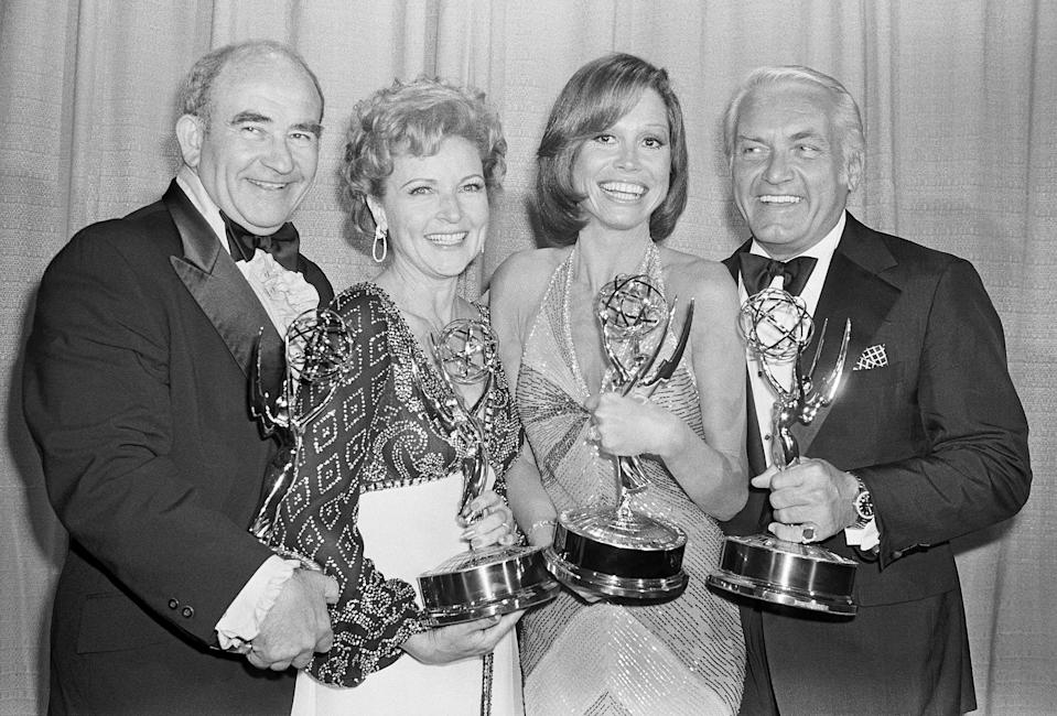 <p>Her time on the blockbuster show would lead to two Emmy Awards for outstanding supporting actress in a comedy series. </p>