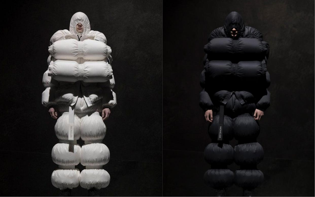 Moncler's collaboration with British designer Craig Green has been heavily mocked online [Photo: Moncler]