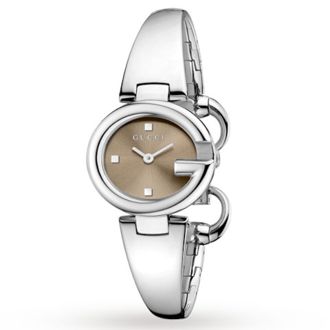 Gucci Stainless Steel Ladies Watch - Credit: GUCCI