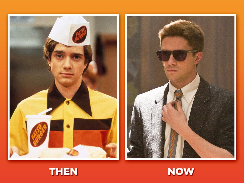 "<span style=""font-family:Arial;"">Topher Grace (Eric Forman)<br><br>The oddly named Grace (he was born Christopher, but shortened it to ""Topher"" to avoid being called ""Chris"") anchored the ""'70s Show"" cast as ever-deadpan teen Eric Forman. Grace ditched the show in its final season to pursue a film career, including a key role as the villainous Venom in the big-budget sequel ""<a href=""http://movies.yahoo.com/movie/spiderman-3/"">Spider-Man 3</a>."" But last year's '80s-set comedy, ""<a href=""http://movies.yahoo.com/movie/take-me-home-tonight/"">Take Me Home Tonigh</a><a>t</a>,"" fizzled at the box office. Hmmm, the '70s worked, the '80s didn't… maybe he should try a '90s-set sitcom next? </span>"