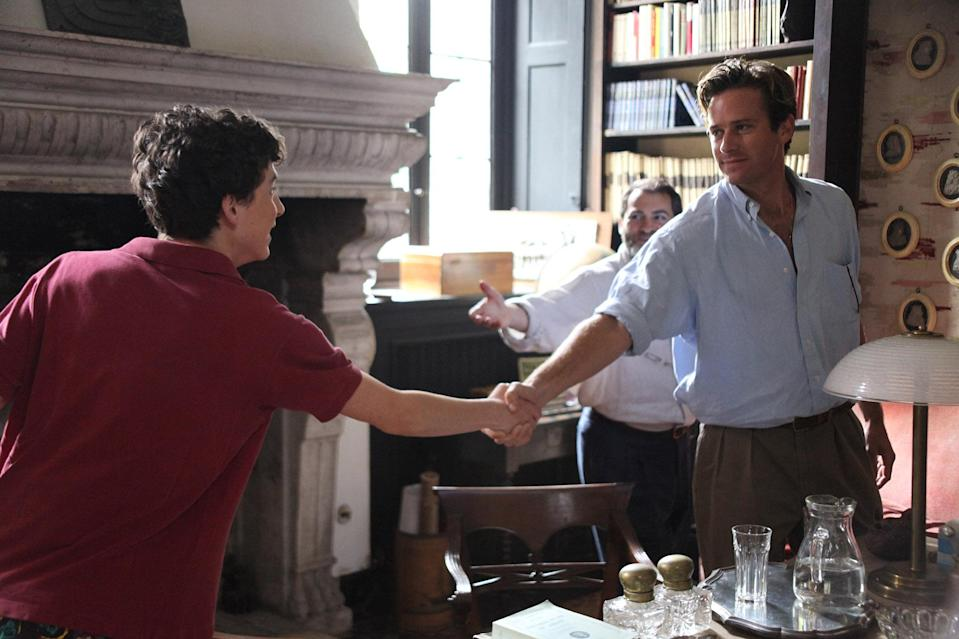 <p>Luca Guadagnino's remarkable film about a 17-year-old boy's summer of love and subsequent discovery of his sexual identity sneaks up on you. It's so casually beautiful in a way that feels effortless, and then leaves you absolutely gutted by its denouement. Yes, Timothée Chalamet's performance as Elio absolutely deserves Oscar gold, but so does Michael Stuhlbarg for his work in one particularly powerful scene. <em>— B.A. </em>(Photo: Everett Collection) </p>