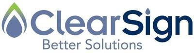 ClearSign Logo (PRNewsFoto/ClearSign Combustion Corporation) (PRNewsfoto/ClearSign Combustion Corporation)