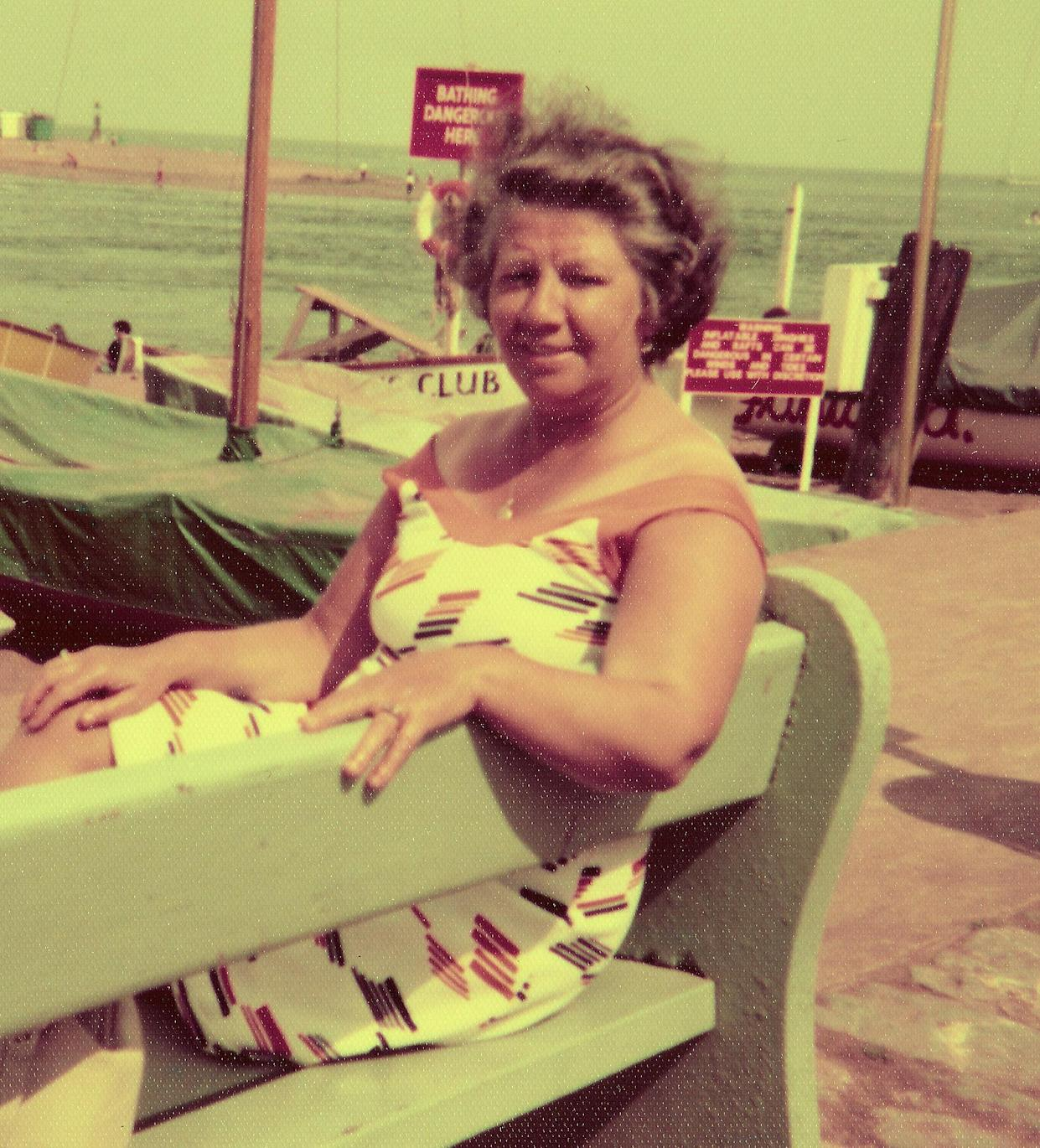Mrs Evans and her husband Morris enjoyed holidays across the UK and abroad during their lengthy marriage (family handout/PA).