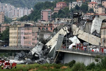 Three Atlantia employees arrested in probe linked to Genoa bridge collapse