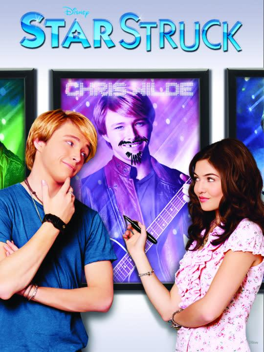 <p>Danielle Campbell (<i>The Originals</i>) stars in this comedy of deception about an ordinary teenage girl who ditches her family reunion in order to stalk a teen pop idol named Christopher Wilde. Rated TV-MA for non-stop gore.<br><br><i>(Credit: Disney Channel)</i> </p>