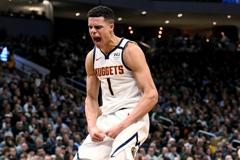 Nuggets forward Michael Porter Jr. is the definitely the Rookie of the Bubble. (Dylan Buell/Getty Images)