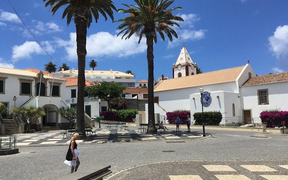Porto Santo - the capital of Villa Baleira