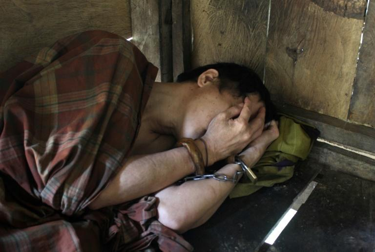 Indonesia's Health Ministry said it had recorded more than 6,000 'shackling' cases in the first half of the year, a rise of more than 1,000 on the whole of 2019