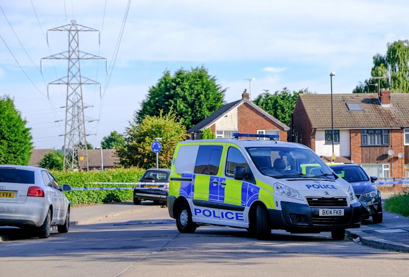 "GV of the scene on Middle Ride in Coventry where police have launched a murder investigation after an 18 year old man was stabbed and killed. Police have arrested an 18 year old woman in connection with the incident. June 2, 2020 A murder investigation has been launched in Coventry after a young man died following a stabbing last night (June 1). See SWNS story SWMDmurder. Police were called to reports of an injured man taken to hospital yesterday evening at around 10.10pm. However, despite best efforts from medical staff, the 18-year-old sadly died. He is thought to have been stabbed shortly before on Middle Ride in the Willenhall area of the city.An 18-year-old woman was arrested on suspicion of murder not long after and is currently in custody. West Midlands Police say the incident is thought to be domestic related and they are not looking for anyone else at this stage. Detective Inspector Hannah Whitehouse, from the homicide team, said: ""This is a tragic loss of a young man's life."