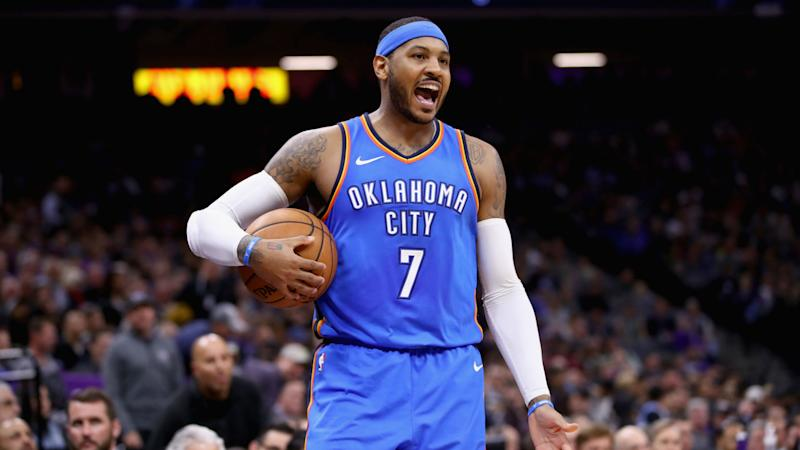 Rumor: Carmelo Anthony wanted Banana Boat squad in Houston before Thunder trade