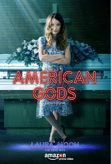 Laura Moon in American Gods