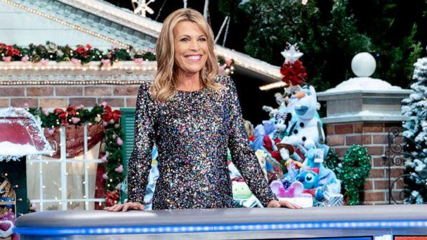 PHOTO: Vanna White on the set of 'Wheel of Fortune' for her hosting debut. (Carol Kaelson)