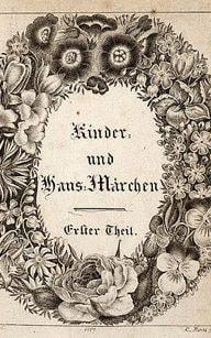 The frontispiece for the Grimms' Household Tales