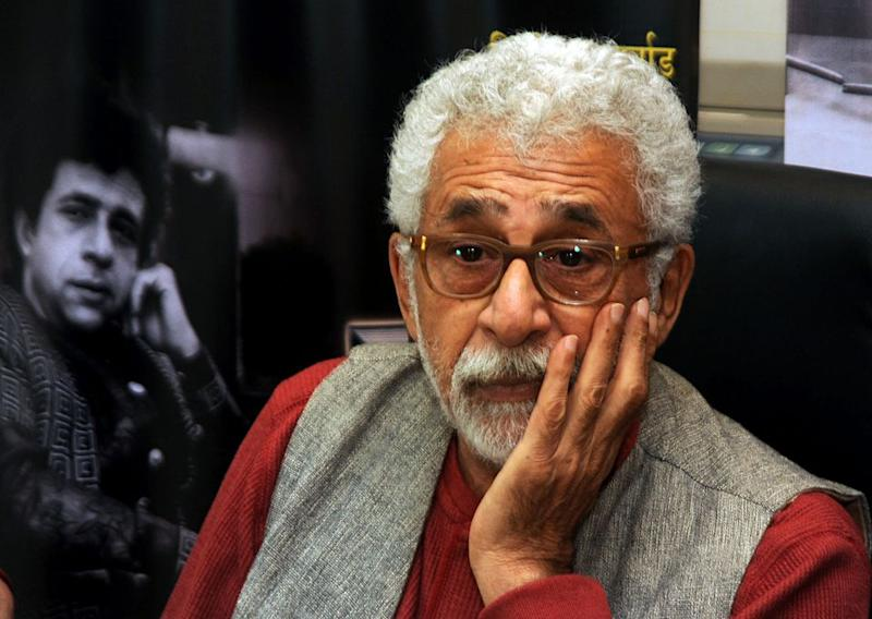 Naseeruddin Shah has been a vocal critic of the present dispensation and often finds himself in the middle of a maelstrom.