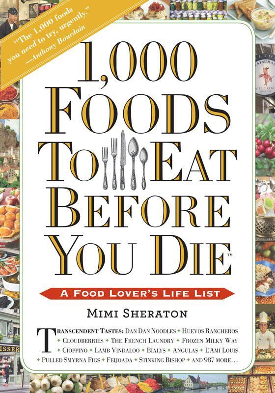 """<p>Famous food writer Mimi Sheraton puts her decades of food-writing experience to work with this masterful collection of recipes that any food lover will appreciate. <b>Price: $25. <a href=""""http://yahooshopping.pgpartner.com/plr.php?id=17721"""" rel=""""nofollow noopener"""" target=""""_blank"""" data-ylk=""""slk:Get 1,000 Foods to Eat Before You Die on Amazon"""" class=""""link rapid-noclick-resp"""">Get <b><i>1,000 Foods to Eat Before You Die</i></b> on Amazon</a>. </b><i>(Photo: Workman Press)</i></p>"""