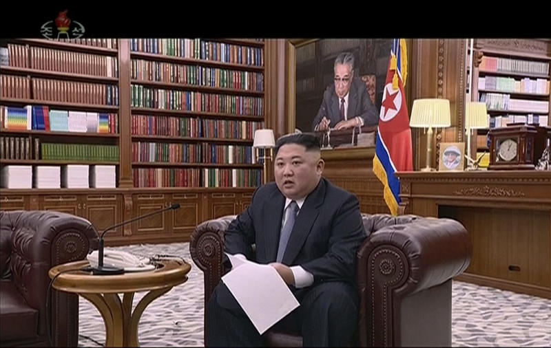 NK leader warns of seeking 'new way' if USA pressure continues