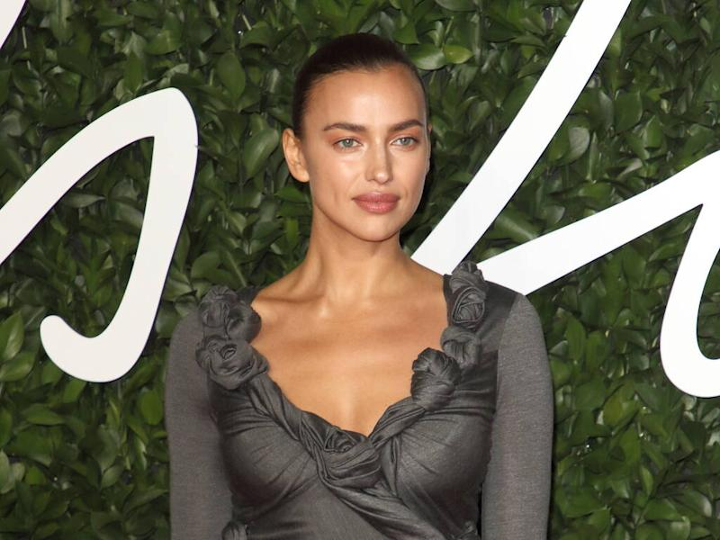 Irina Shayk swears by using gold-infused face masks after long-haul travel
