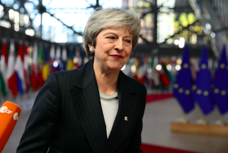 <em>Theresa May is being urged to seek a General Election to stop opposition to a no deal Brexit (Getty)</em>