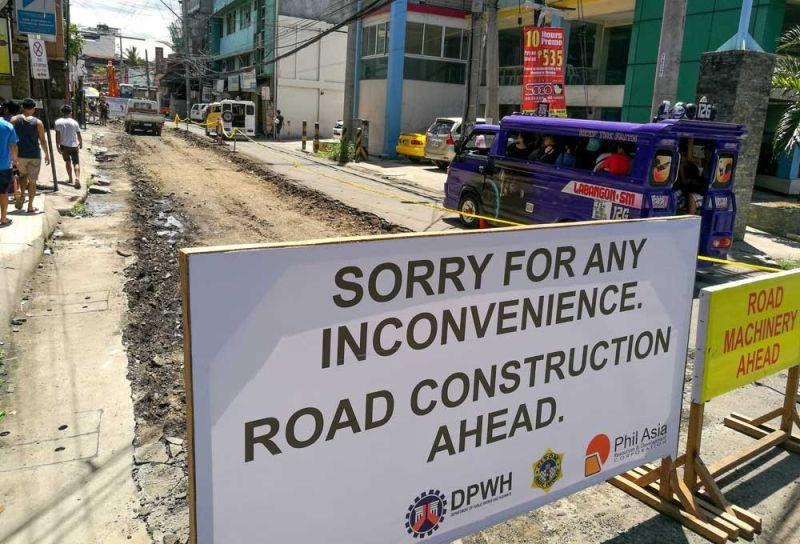 Ordinance proposes to limit hours of roadworks  in Cebu City