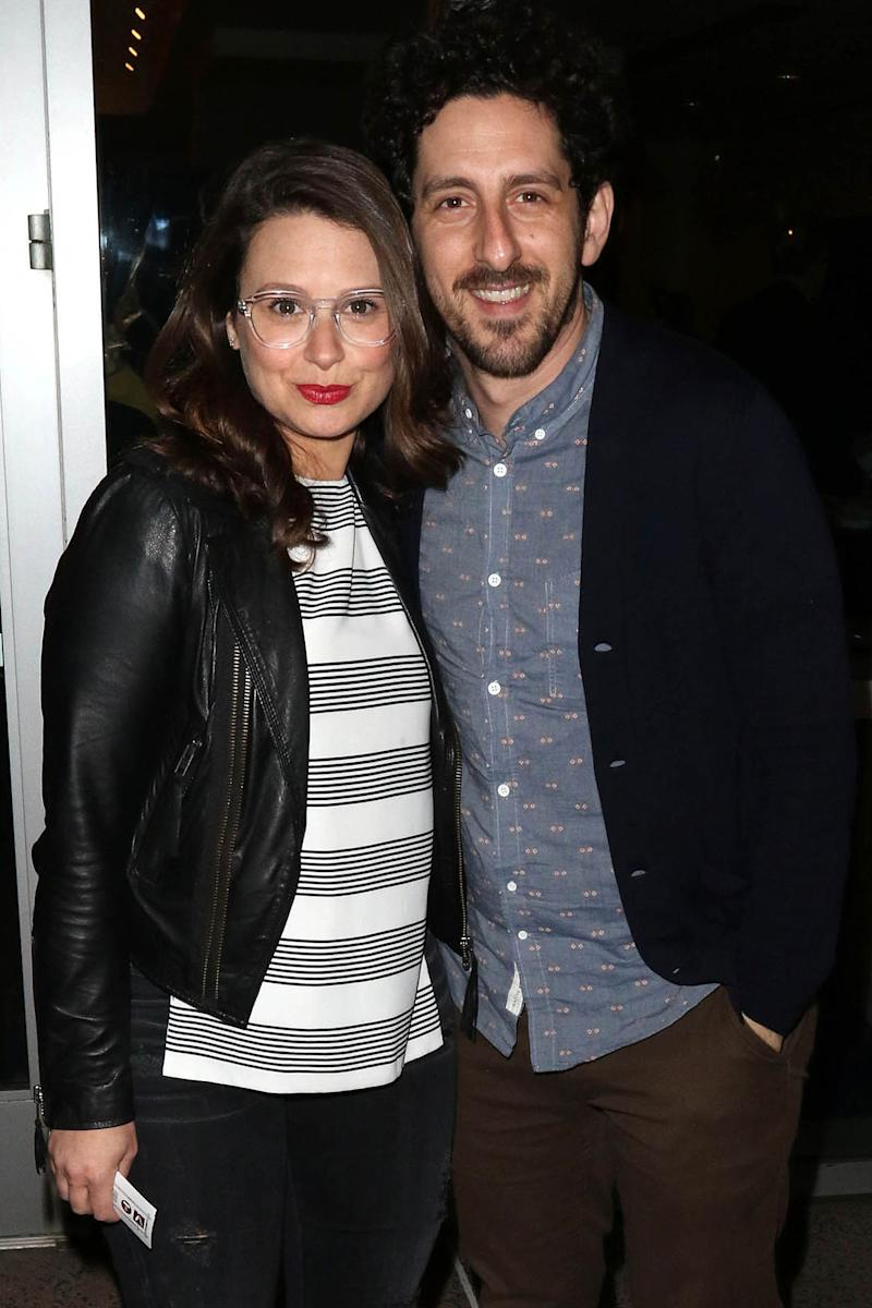 Baby Gladiator! Katie Lowes Welcomes Son Albee