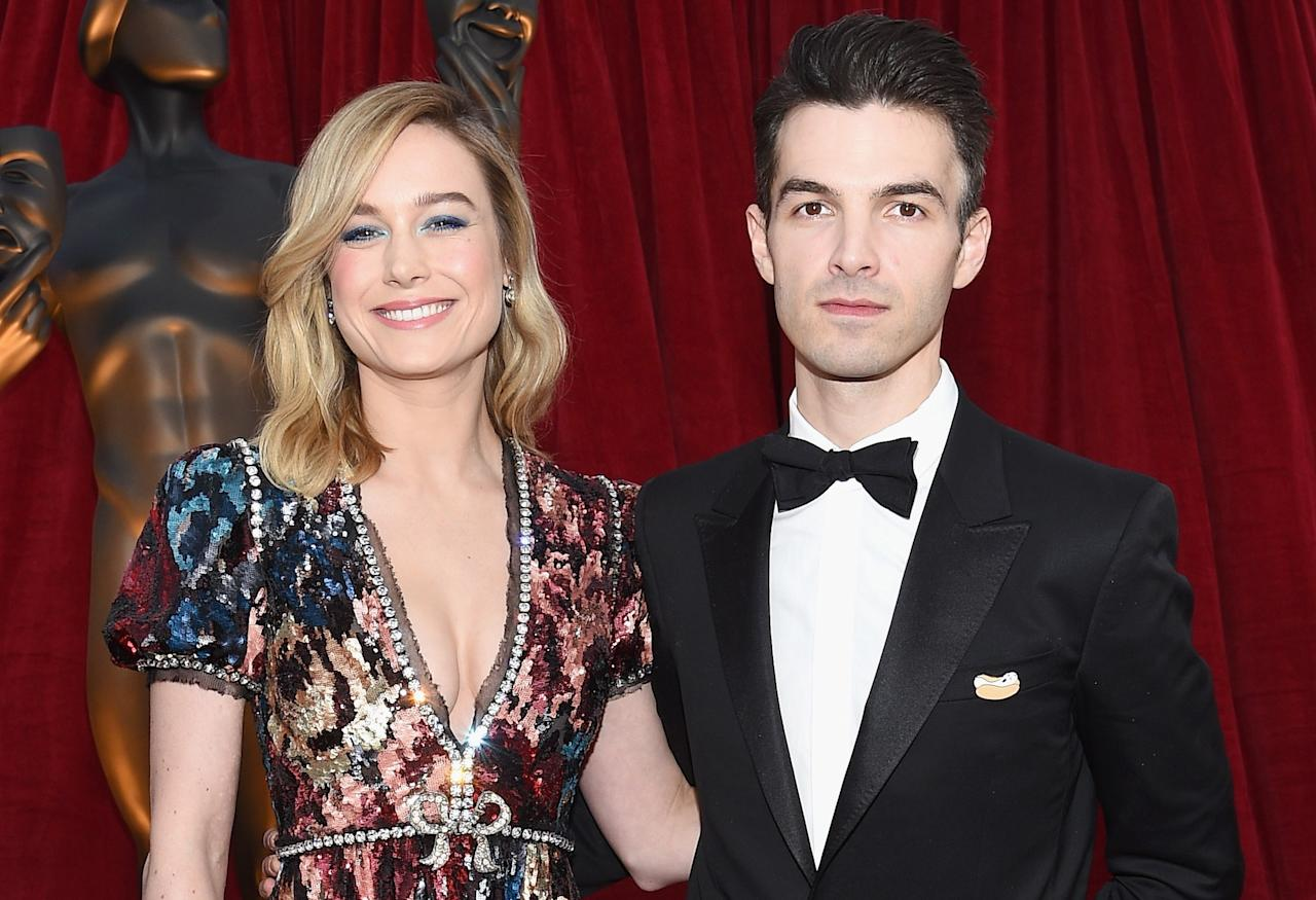 "<em><a href=""https://people.com/movies/brie-larson-boyfriend-alex-greenwald-end-engagement/"">People</a></em> reported that Brie Larson and fiancé Alex Greenwald ended their engagement of nearly three years in January. ""They have taken a step back from their engagement for the time being, but they remain close,"" a source told the magazine."