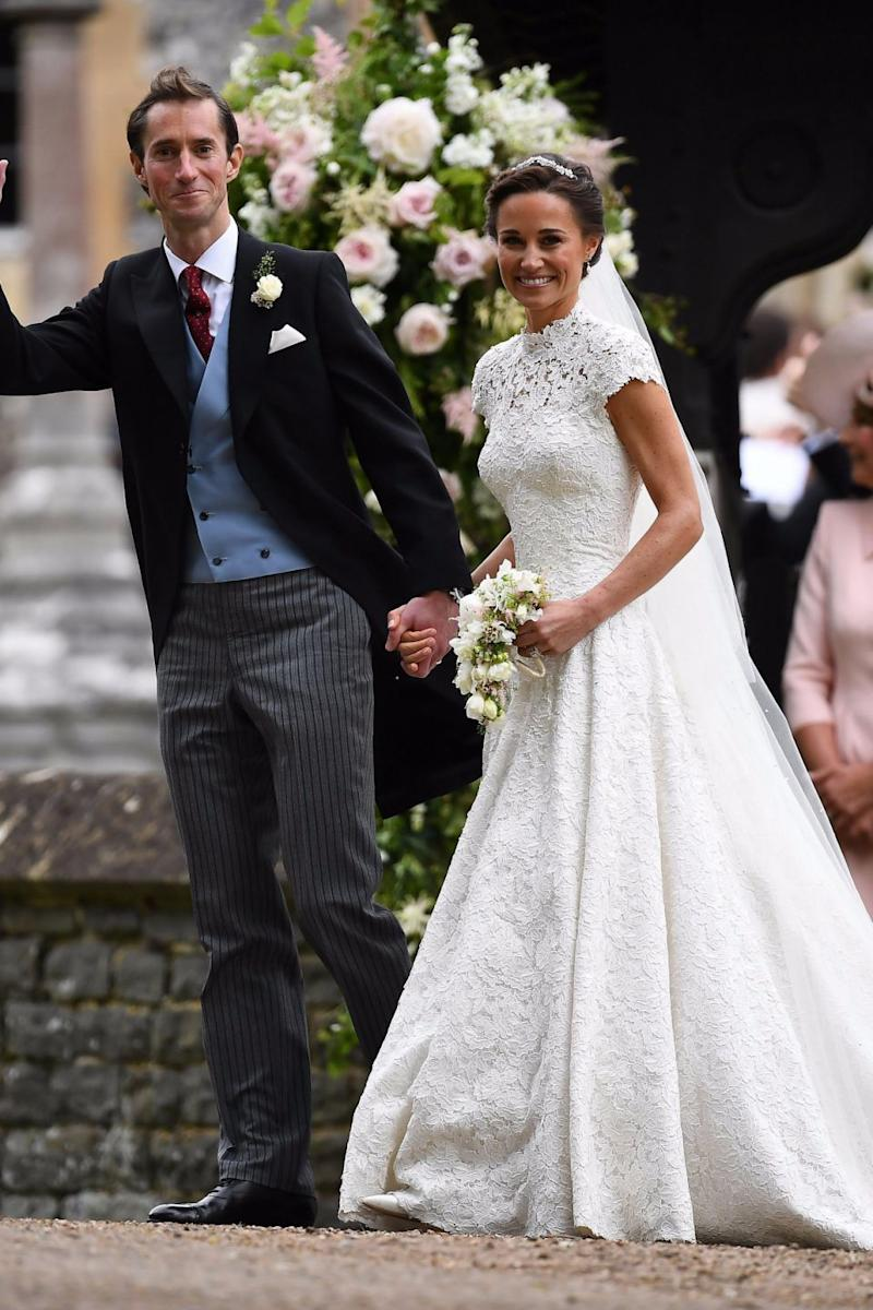 Giles Deacon designed Pippa Middleton's wedding dress and has offered his services to Megan. Photo: Getty