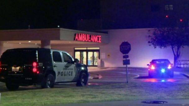 PHOTO: A Denton police officer was shot during an officer-involved shooting in Denton, Texas, Oct. 29, 2019. (WFAA)