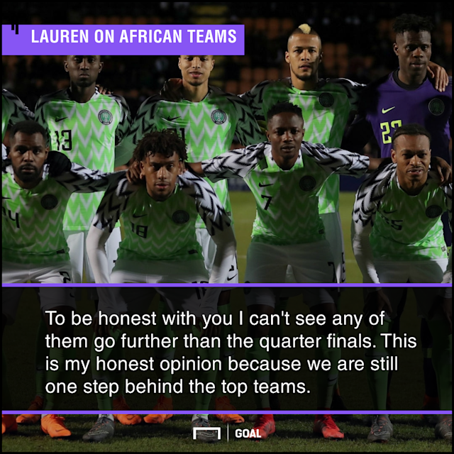 The former Indomitable Lions' defender feels that the continent's representatives are still second-rate when compared to the world's top teams