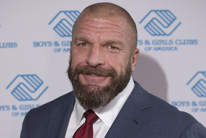 IMAGE DISTRIBUTED FOR BOYS & GIRLS CLUBS OF AMERICA - WWE Executive Vice President and WWE Superstar Paul