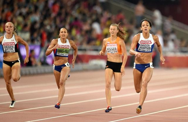 Katarina Johnson-Thompson is following in Jessica Ennis-HIll's footsteps. (Adam Davy/PA)