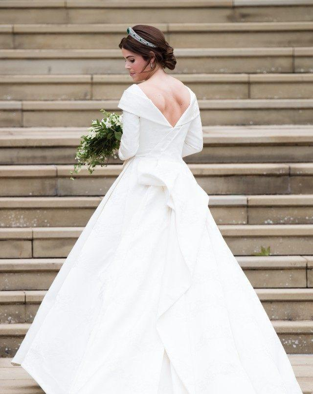 From Meghan Markle to Priyanka Chopra and Mandy Moore, ET rounds up the most stunning bridal wear from the past year.