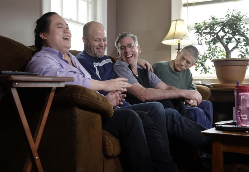 A chosen-family portrait: A group that 'needed each other'
