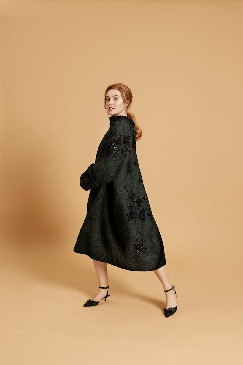 Coat, Erdem; Shoes, Dior. Photo by Emma Anderson/InStyle.com.