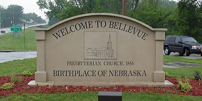"""<p><strong>Established in:</strong> 1822</p><p>In 1822, a settlement was <a href=""""https://www.bellevue.net/information/history-of-bellevue"""" rel=""""nofollow noopener"""" target=""""_blank"""" data-ylk=""""slk:built by Joshua Pilcher"""" class=""""link rapid-noclick-resp"""">built by Joshua Pilcher</a>, who was then the president of the Missouri Fur Company. It started as a fur trading post that was later known as Fontenelle's Post, after being run by Lucien Fontenelle. Eventually, French Canadian trappers named it Bellevue, inspired by the beautiful view of the bluffs over the Missouri River. </p>"""
