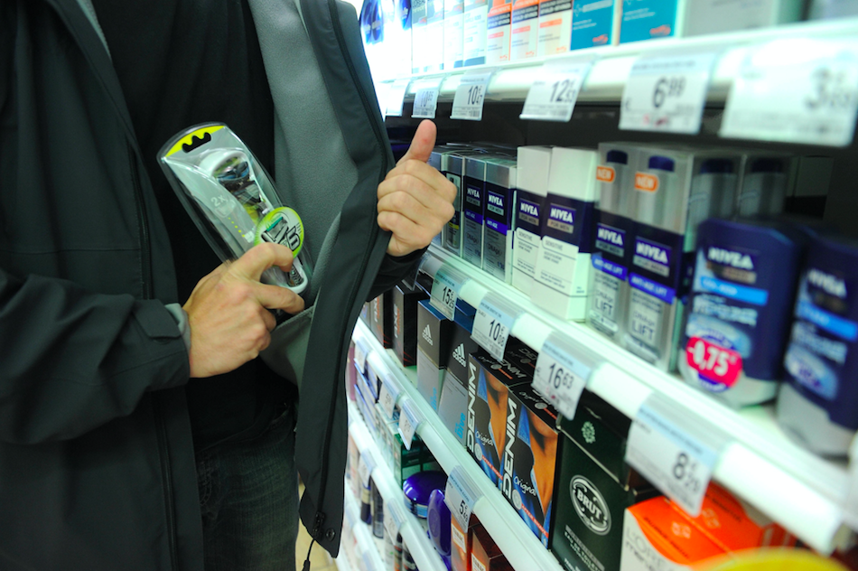 <em>Crimes like shoplifting will be assessed to see if an investigation is warranted (Rex/stock photo)</em>