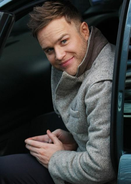 Olly Murs photos: If only Olly would take us for a spin in his car.