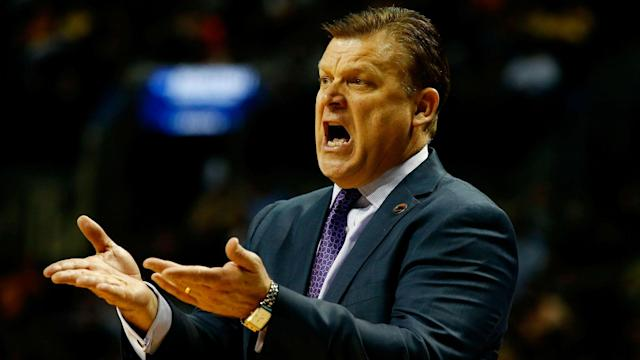 One day after his first season at Oklahoma State ended, Brad Underwood is moving on to coach Illinois.