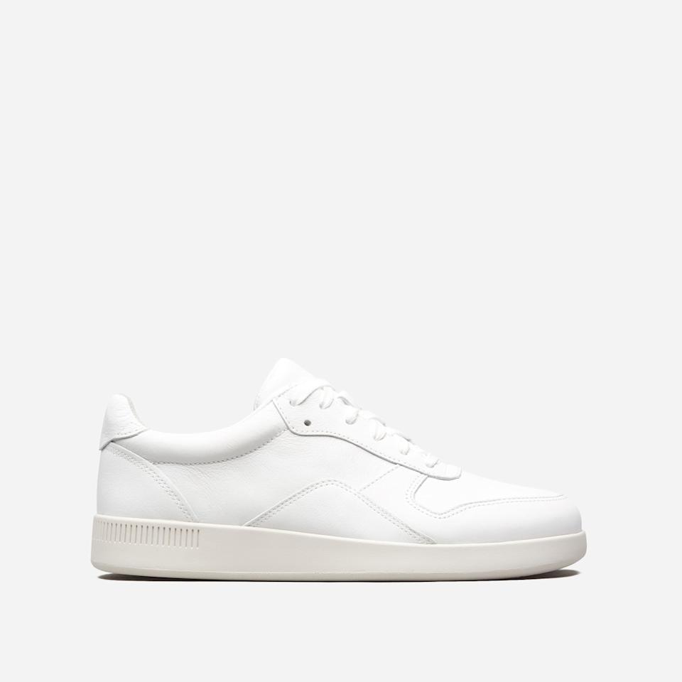 "<br><br><strong>Everlane</strong> The Court Sneaker, $, available at <a href=""https://go.skimresources.com/?id=30283X879131&url=https%3A%2F%2Fwww.everlane.com%2Fproducts%2Fwomens-court-sneaker-white"" rel=""nofollow noopener"" target=""_blank"" data-ylk=""slk:Everlane"" class=""link rapid-noclick-resp"">Everlane</a>"