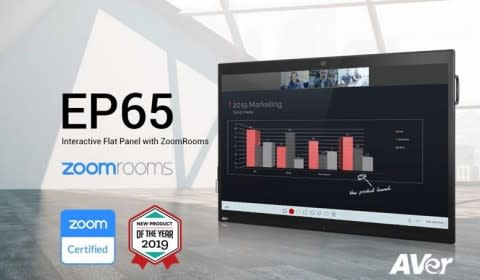 AVer EP65 Named 2019 New Product of the Year