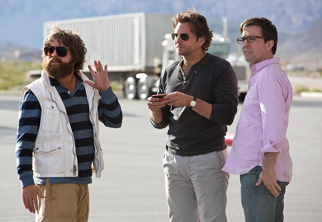 "Zach Galifianakis, Bradley ooper and Ed Helms in Warner Bros.' ""The Hangover Part III"" - 2013"