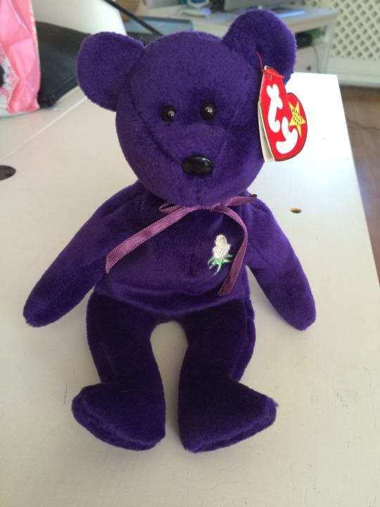 Ty Beanie Baby Princess USED