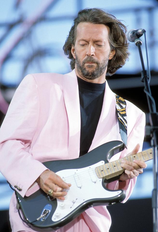 "Eric Clapton: ""Slowhand"" This doesn't have anything to do with the Pointer Sisters' desire for a lover with one of these, in case you're wondering. If anything, it's an ironic title similar to calling a fat guy ""Slim."" But there's a little more to it than that. It was given to him by the Yardbirds' manager, Giorgio Gomelsky, and has a story behind it. In 1999, Clapton said, ""I think it might have been a play on words from the 'Clap' part of my name. In England, in sport, if the crowd is getting anxious, we have a slow handclap, which indicates boredom or frustration. But it wasn't my idea; it was someone else's comment."" He went into greater detail in his 2007 memoir: ""On my guitar I used light-gauge guitar strings… and it was not uncommon during the most frenetic bits of playing for me to break at least one string. During the pause while I was changing my string, the frenzied audience would often break into a slow handclap, inspiring Giorgio to dream up the nickname of 'Slowhand' Clapton."" Of course, in the late '60s, he also had another nickname: ""God."" (See Jay-Z; blasphemy.)"