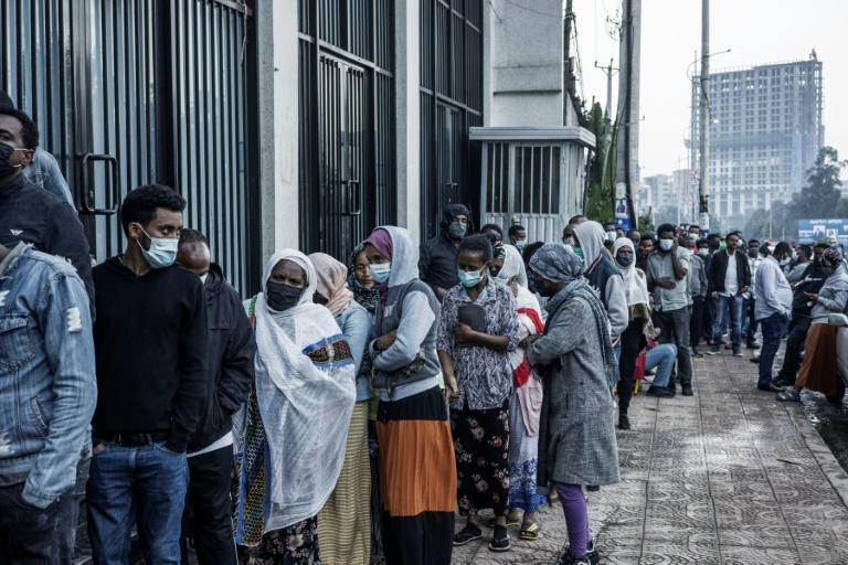 Polling was extended by three hours to accommodate long queues of voters